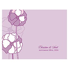 Pinwheel Poppy Note Card