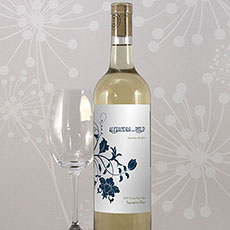 Floral Orchestra Wine Label