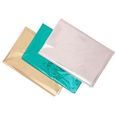 Metallic Foil (Package of 5 Sheets)