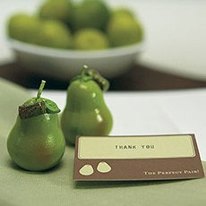 Green Pear Candles