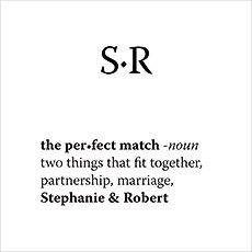 """The Perfect Match"" Dictionary Cards"