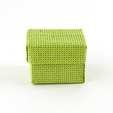 Natural Woven Favor Boxes With Lids